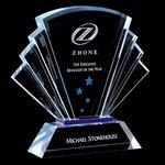 Pilkington Award - Optical/Blue 7 3/4   in. High