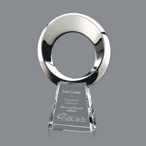 Soledad Award - Silver/Optical 10 in