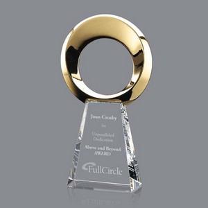 Soledad Award - Gold/Optical 12 in