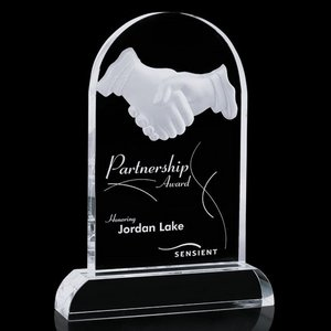 Partnership Award - Optical 9.5 in.