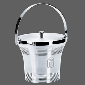 Rockport Stainless Steel Ice Bucket and Lid