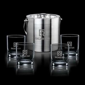 Delfina Ice Bucket & 4 Aristocrat OTR
