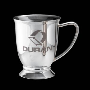 Ryerson Footed Mug -Stainless Steel 12oz