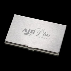 Barnes Business Card Holder - Brushed