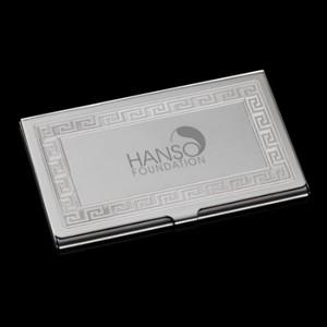 Athena Business Card Case - Polished