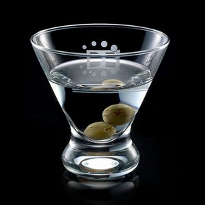Brisbane 8oz Stemless Martini Glass