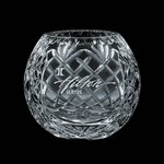 Medallion 5 in. Crystal Rose Bowl