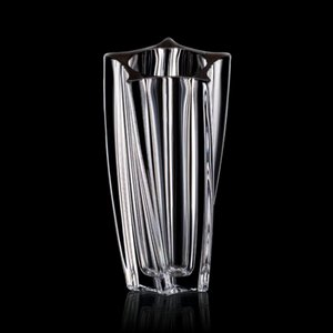 Manzini Barrel Vase - 12 in. Crystalline