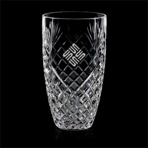 Taunton Award Vase - Crystal 9 in.