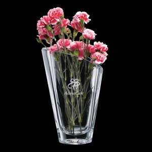 Torino Vase - 11 in. Crystalline