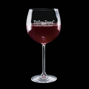 Woodbridge Burgundy Oversized Wine Glasses Free 19oz
