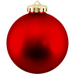 Christmas Ball Ornaments Shatterproof Plastic - Red Ornaments