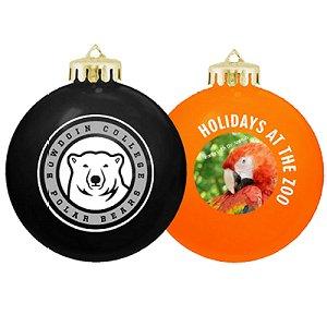 USA Shatterproof Christmas Ball Ornaments - Full Color Design