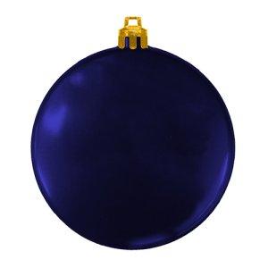 USA Made Custom Christmas Ornaments - Flat Shatterproof - Blue