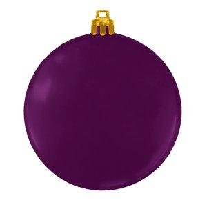USA Made Custom Christmas Ornaments - Flat Shatterproof - Purple