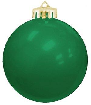 USA Shatterproof Christmas Ball Ornaments -Green