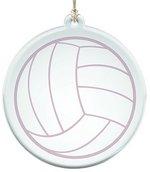 Acrylic Suncatcher With Volleyball Design