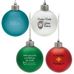 Custom Christmas Ornaments - Light-Up Shatter Resistant Ornament