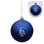 Blue Custom Christmas Ornament - Shatterproof