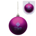 Custom Christmas Ornament - Shatterproof - Magenta