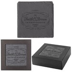 Square Slate Coaster Set of 4