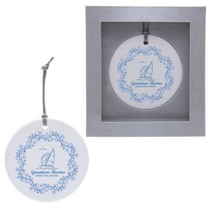 Ceramic Ornament - Round Circle
