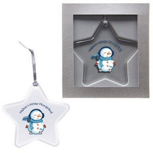Acrylic Ornament - Star