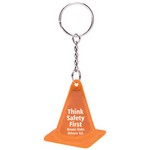 Reflective Safety Cone Keytag