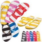 Striped Adult Flip Flop