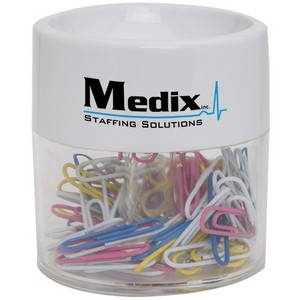Round Paper Clip Dispenser