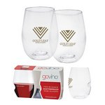 Dishwasher Safe Govino® 16oz Wine Glass 2 Pack