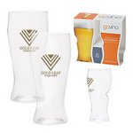 Dishwasher Safe Govino® 16oz Beer Glass 2 Pack