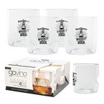 Govino® Whiskey Glass - Dishwasher Safe Set 4