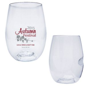 Govino® Dish Washer Safe 16oz Wine Glass with Custom Imprint