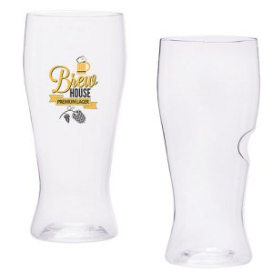 Govino®  Dishwasher Safe Beer Glass with Custom Imprint 16oz