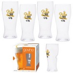 Dishwasher Safe Govino® 16oz Beer Glass 4 Pack