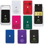 Snap Cell Phone Card Holder