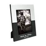5 x 7 Black & White Frame