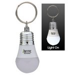 Light Up LED Bulb Keytag