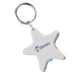Light Up Star Keytag