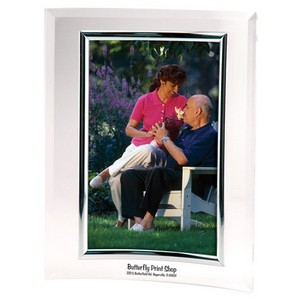 5 x 7 Curved Frame