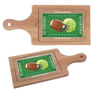 Cheese Board with Tempered Glass Cutting Surface