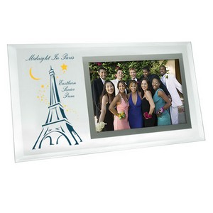 6 x 4 Horizontal Beveled Glass Frame