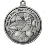 Twelve Days of Christmas Full Size Ornament (Day 1 - A Partridge in a Pear Tree)