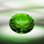 Diamond Paperweight / Green