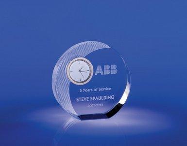 Buenos Optical Crystal Clock