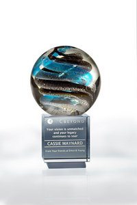 Helix Art Glass Award  - LG