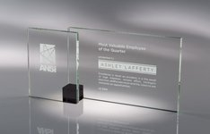 Shadow Glass Award Black - SM