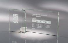 Shadow Glass Award Clear - SM