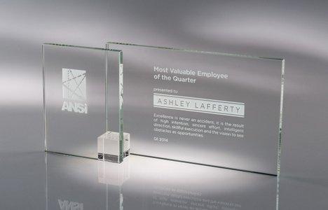 Shadow Glass Award Clear LG